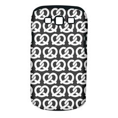 Gray Pretzel Illustrations Pattern Samsung Galaxy S Iii Classic Hardshell Case (pc+silicone)