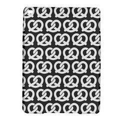 Gray Pretzel Illustrations Pattern iPad Air 2 Hardshell Cases