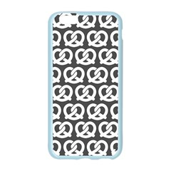 Gray Pretzel Illustrations Pattern Apple Seamless iPhone 6/6S Case (Color)