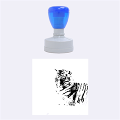 Tiger 2015 0101 Rubber Round Stamps (Medium)