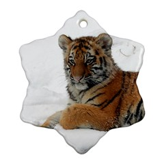 Tiger 2015 0101 Snowflake Ornament (2-Side)