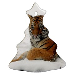Tiger 2015 0101 Christmas Tree Ornament (2 Sides)