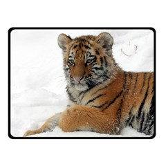 Tiger 2015 0101 Double Sided Fleece Blanket (Small)