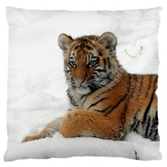 Tiger 2015 0101 Large Flano Cushion Cases (Two Sides)