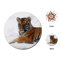 Tiger 2015 0101 Playing Cards (round)