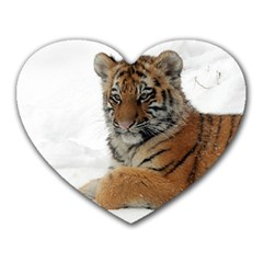 Tiger 2015 0101 Heart Mousepads