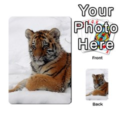 Tiger 2015 0101 Multi-purpose Cards (Rectangle)