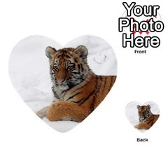Tiger 2015 0101 Multi-purpose Cards (Heart)