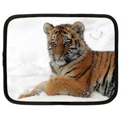 Tiger 2015 0101 Netbook Case (Large)