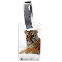 Tiger 2015 0101 Luggage Tags (One Side)