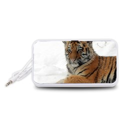 Tiger 2015 0101 Portable Speaker (White)