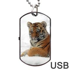 Tiger 2015 0101 Dog Tag USB Flash (One Side)