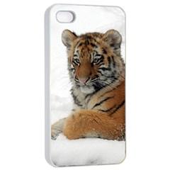 Tiger 2015 0101 Apple Iphone 4/4s Seamless Case (white)