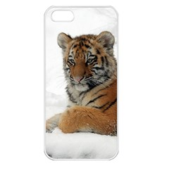 Tiger 2015 0101 Apple iPhone 5 Seamless Case (White)