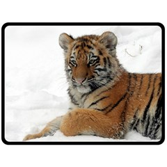 Tiger 2015 0101 Double Sided Fleece Blanket (Large)