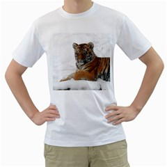 Tiger 2015 0101 Men s T-Shirt (White)