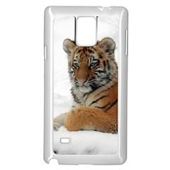 Tiger 2015 0101 Samsung Galaxy Note 4 Case (White)