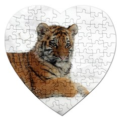 Tiger 2015 0102 Jigsaw Puzzle (Heart)