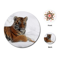Tiger 2015 0102 Playing Cards (Round)