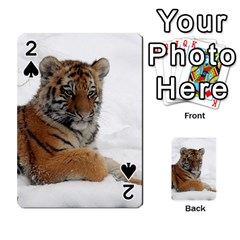 Tiger 2015 0102 Playing Cards 54 Designs