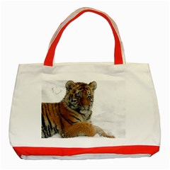 Tiger 2015 0102 Classic Tote Bag (Red)