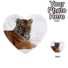 Tiger 2015 0102 Multi-purpose Cards (Heart)