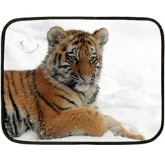 Tiger 2015 0102 Double Sided Fleece Blanket (mini)