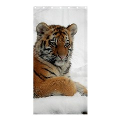 Tiger 2015 0102 Shower Curtain 36  x 72  (Stall)