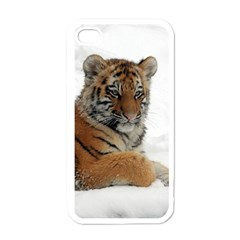 Tiger 2015 0102 Apple iPhone 4 Case (White)