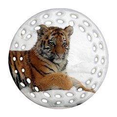 Tiger 2015 0102 Ornament (round Filigree)