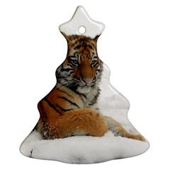 Tiger 2015 0102 Christmas Tree Ornament (2 Sides)