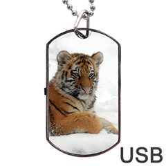 Tiger 2015 0102 Dog Tag USB Flash (One Side)