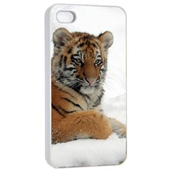 Tiger 2015 0102 Apple Iphone 4/4s Seamless Case (white)