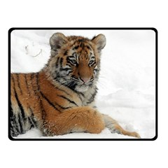 Tiger 2015 0102 Double Sided Fleece Blanket (Small)