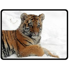 Tiger 2015 0102 Double Sided Fleece Blanket (Large)