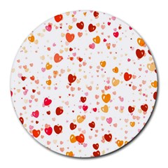 Heart 2014 0604 Round Mousepads