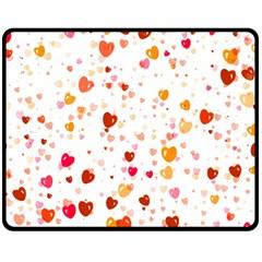 Heart 2014 0604 Fleece Blanket (Medium)