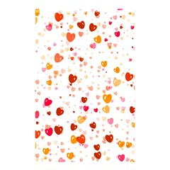 Heart 2014 0604 Shower Curtain 48  x 72  (Small)