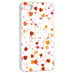 Heart 2014 0604 Apple iPhone 4/4s Seamless Case (White)