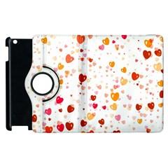 Heart 2014 0604 Apple iPad 3/4 Flip 360 Case
