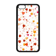 Heart 2014 0604 Apple iPhone 5C Seamless Case (Black)