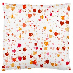 Heart 2014 0604 Standard Flano Cushion Cases (one Side)