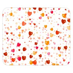 Heart 2014 0604 Double Sided Flano Blanket (Small)