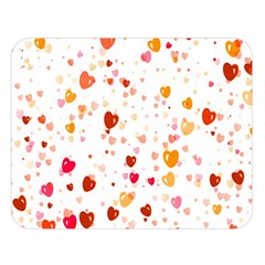 Heart 2014 0604 Double Sided Flano Blanket (Large)