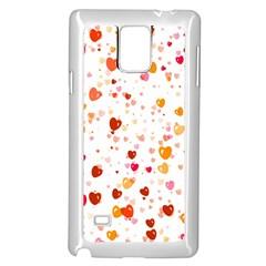Heart 2014 0604 Samsung Galaxy Note 4 Case (White)