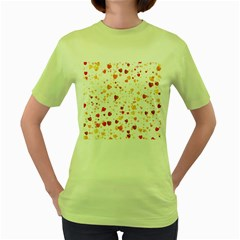 Heart 2014 0605 Women s Green T Shirt