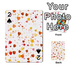 Heart 2014 0605 Playing Cards 54 Designs
