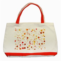 Heart 2014 0605 Classic Tote Bag (red)