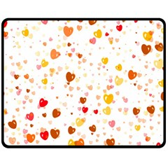 Heart 2014 0605 Fleece Blanket (medium)
