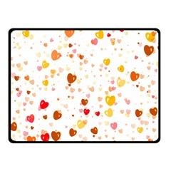 Heart 2014 0605 Fleece Blanket (Small)